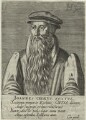 John Knox, by Hendrik Hondius (Hond), after  Adrian Vanson (van Son) - NPG D25284