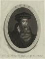 John Knox, by Thomas Trotter, after  de Vos - NPG D25291