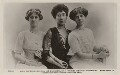 Princess Louise, Duchess of Fife and her daughters, by Lallie Charles (née Charlotte Elizabeth Martin), published by  Rotary Photographic Co Ltd - NPG x47143