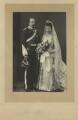 Alexander William George Duff, 1st Duke of Fife; Princess Louise, Duchess of Fife, by W. & D. Downey - NPG x36202