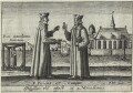 Edmund Campion and Robert Parsons, by Friedrich van Hulsen - NPG D25307