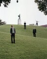 The Futureheads (Barry Hyde; Ross Millard; Jaff; Dave Hyde), by Marius W. Hansen - NPG x131004