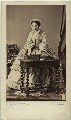 Eugénie, Empress of France ('Eugénie de Montijo'), by Disdéri - NPG x74324