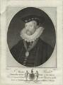 Sir Amias Paulet, by R. Clamp - NPG D25357
