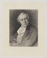 William Blake, by William Bell Scott, after  Thomas Phillips - NPG D31872