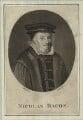 Sir Nicholas Bacon, by James Tookey - NPG D25369