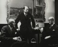 Directors of Arthur Tooth & Sons ((John) Peter Warren Cochrane; David Gibbs; Dudley William Tooth), by Ida Kar - NPG x131020