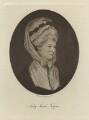 Lady Sarah Napier (née Lennox, formerly Bunbury), by Walker & Cockerell - NPG D31910