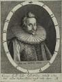 Sir Philip Sidney, by Magdalena de Passe, by  Willem de Passe - NPG D25390