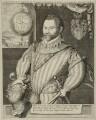 Sir Francis Drake, possibly by Jodocus Hondius - NPG D25402