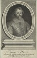 Unknown man engraved as Sir Francis Drake, by Robert White - NPG D25404
