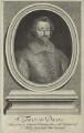 Unknown man engraved as Sir Francis Drake, by Robert White - NPG D25404