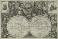 Cicumnavigators; Sir Francis Drake; Oliver van Noort; Ferdinand Magellan; Wilhelm Schouten; Thomas Cavendish; George Spilman, by Unknown artist - NPG D25408