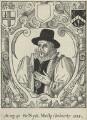 Sir Nicholas Mosley, by John Brand - NPG D25446