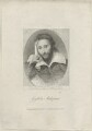 Unknown man, possibly a poet, formerly known as William Shakespeare, by William Holl Sr, published by  Abraham Wivell - NPG D25482