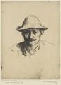 William Strang, by William Strang, printed by  David Strang - NPG D31916