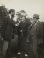 Lytton Strachey; Duncan Grant; (Arthur) Clive Bell, by Vanessa Bell (née Stephen) - NPG x21199