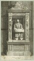 Monument to John Stow at St. Andrew, Undershaft, by Charles Pye - NPG D25540