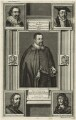Sir Thomas Bodley, William Laud, Sir Kenelm Digby, William Herbert, 3rd Earl of Pembroke, John Selden, by Michael Burghers - NPG D25544