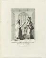 Roger Ascham; Queen Elizabeth I, published by William Smith - NPG D25553