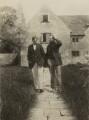Oliver Strachey; Lytton Strachey, by Unknown photographer - NPG x13072