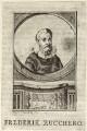 Federico Zuccaro, by J.L. la Farque - NPG D25564
