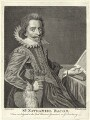 Sir Nathaniel Bacon, by Thomas Chambers (Chambars), after  Sir Nathaniel Bacon - NPG D25568