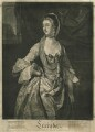 Ann Bonfoy (née Eliot), by Richard Purcell (H. Fowler, Charles or Philip Corbutt), published by  John Spilsbury, after  Sir Joshua Reynolds - NPG D31941
