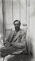 Lytton Strachey, possibly by Dora Carrington - NPG x38575