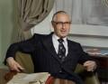 Douglas Albert Vivian Allen, Baron Croham, by Bernard Lee ('Bern') Schwartz - NPG P1157