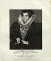 Anne Throckmorton (née Carew), Lady Throckmorton, by Thomas Trotter - NPG D25595