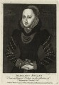 Unknown woman engraved as Margaret Boleyn (perhaps intended as Mary Stafford (née Boleyn), by John Ogborne, published by  John Thane - NPG D25597