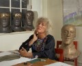 Elisabeth Frink, by Bernard Lee ('Bern') Schwartz - NPG P1171