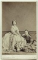 Princess Alice, Grand Duchess of Hesse; Queen Alexandra, by Southwell Brothers, published by  A. Marion, Son & Co - NPG x131081
