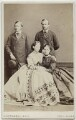 King Edward VII; Princess Alice, Grand Duchess of Hesse; Louis IV, Grand Duke of Hesse and by Rhine; Queen Alexandra, by Southwell Brothers, published by  A. Marion, Son & Co - NPG Ax47006