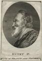 Henri IV, King of France, after Unknown artist - NPG D25627