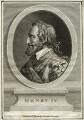 Henri IV, King of France, by William Bromley, after  Boizet - NPG D25630