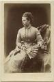 Princess Alice, Grand Duchess of Hesse, by Alexander Bassano - NPG x26108
