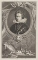 Henry, Prince of Wales, by Jacobus Houbraken, published by  John & Paul Knapton, after  Isaac Oliver - NPG D31904