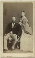 Louis IV, Grand Duke of Hesse and by Rhine; Princess Alice, Grand Duchess of Hesse, by W. & D. Downey - NPG x3603