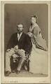 Louis IV, Grand Duke of Hesse and by Rhine; Princess Alice, Grand Duchess of Hesse, by W. & D. Downey - NPG x3603