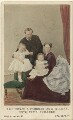 The Duke and Duchess of Hesse and by Rhine with their two eldest daughters, by Hills & Saunders - NPG Ax46754