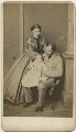 The Grand Duke and Duchess of Hesse and by Rhine with their eldest daughter, published by Richard Smith, after  Unknown photographer - NPG x35075