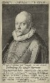 Orlande de Lassus (or Orlandus Lassus, Orlando di Lasso, Roland de Lassus), by Johann (Jean, Jans or Hans) Sadeler - NPG D25677