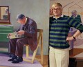 David Hockney, by Bernard Lee ('Bern') Schwartz - NPG P1183