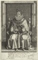 King James I of England and VI of Scotland, by Simon de Passe, published by  John Bill - NPG D25682
