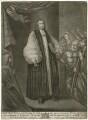 Hugh Boulter, by John Brooks, published by  Thomas Jefferys, published by  William Herbert, after  Francis Bindon - NPG D32003