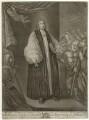 Hugh Boulter, by John Brooks, published by  Thomas Jefferys, published by  William Herbert, after  Francis Bindon - NPG D32004