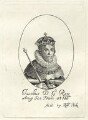 King James I of England and VI of Scotland, possibly by William Faithorne, printed and published by  Robert Peake the Elder - NPG D25701