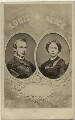 Louis IV, Grand Duke of Hesse and by Rhine; Princess Alice, Grand Duchess of Hesse, by Unknown photographer - NPG x32963
